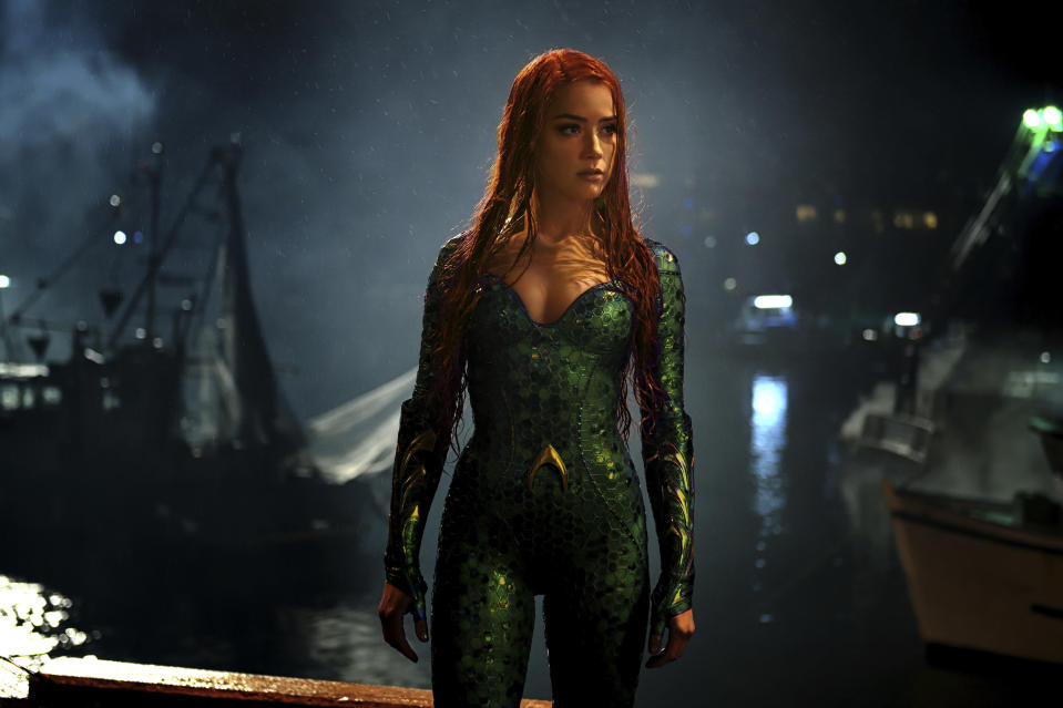 Amber Heard in a scene from Aquaman (Credit: Jasin Boland/Warner Bros. Pictures via AP)