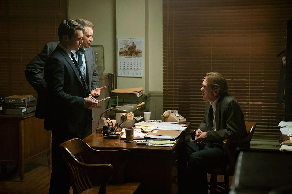 Holden Ford and Bill Tench help a local law enforcement agent with an unusual case. (Patrick Harbron/Netflix)