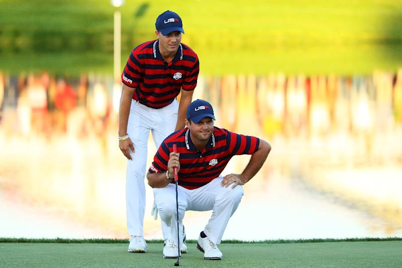 9b3c7b3e5e USA stretch Ryder Cup lead as Rory McIlroy rips hecklers