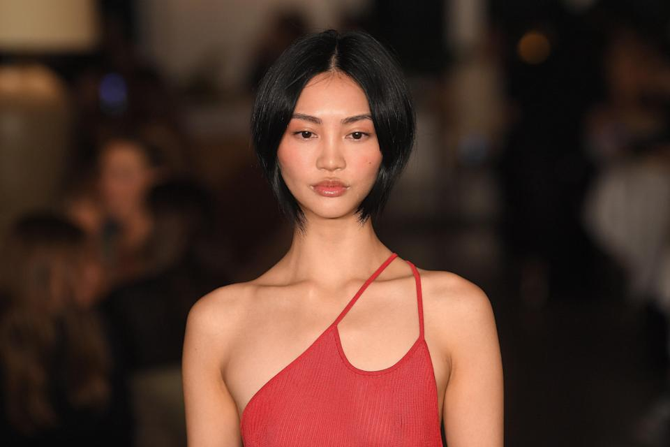 """<p>The '90s influence on beauty and fashion prevails with face-framing layers — or the """"Modern Rachel"""" as Chicago-based hairstylist Alex Brown. </p> <p>New York City's Ritsuko Hotaka says this cut is an easy way to try something new without drastically changing up your hair's length. This style of layers works best with straight hair, she notes, and thickness doesn't matter. </p> <p>When a client sits down in her chair for this look, Hotaka typically takes in their features to figure out how short the shortest layer is. Depending on your face and how it should be framed, it may start around your eyes or even your nose. </p>"""