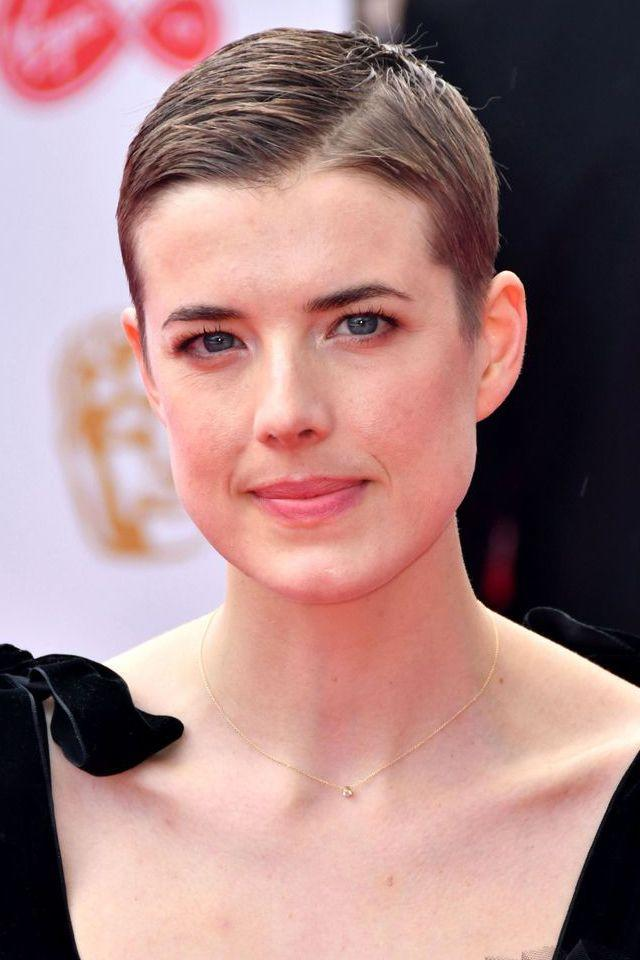<p>Proving that short hair is always red-carpet appropriate, Agyness Deyn rocked out a Mia Farrow-esque pixie crop at the TV BAFTAs.</p>