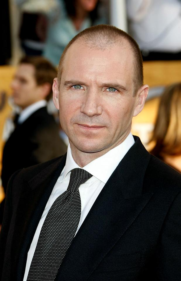 """Ralph Fiennes arrives at the <a href=""""/the-15th-annual-screen-actors-guild-awards/show/44244"""">15th Annual Screen Actors Guild Awards</a> held at the Shrine Auditorium on January 25, 2009 in Los Angeles, California."""