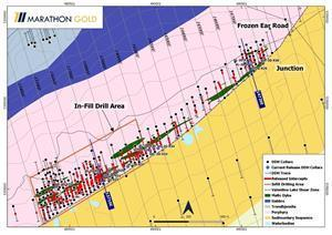 Location of Berry Zone Exploration Drill Hole Collars VL-20-924 to VL-20-937