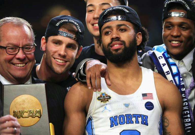 North Carolina point guard Joel Berry was named Most Outstanding Player of the Final Four