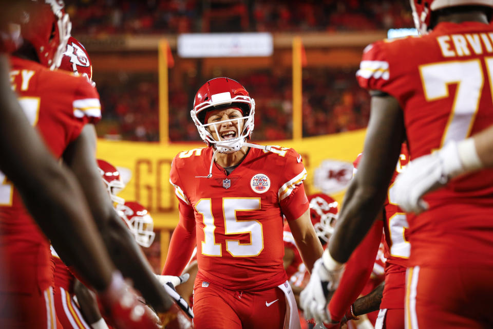 Was there any player as exciting as Patrick Mahomes this season? (Photo by David Eulitt/Getty Images)