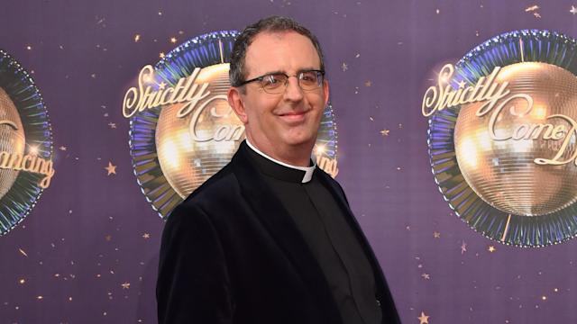 Reverend Richard Coles at the launch of Strictly Come Dancing 2017 at Broadcasting House in London (Press Association)
