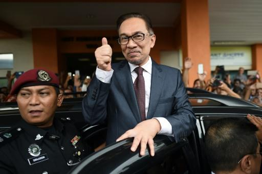 Anwar was jailed on a sodomy conviction that his supporters say was cooked up to destroy his political career