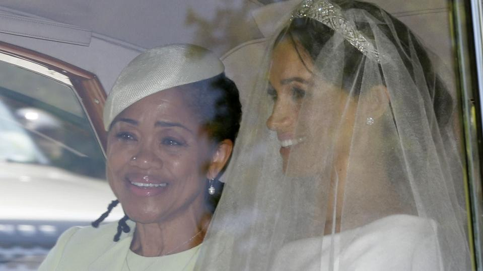 Meghan Markle and her mother, Doria Ragland. (Photo: PA)