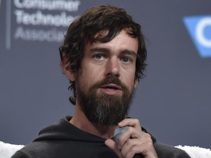 Twitter's Jack Dorsey is thought to own just two per cent of the company he co-founded: David Becker/Getty Images