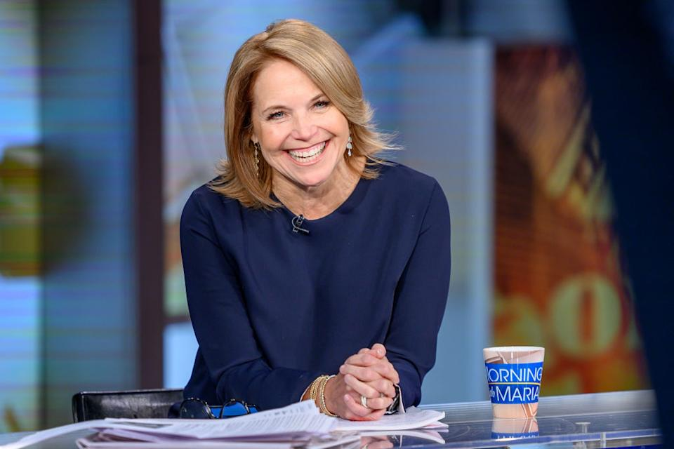 Katie Couric is opening up about her struggles with bulimia. (Getty Images)