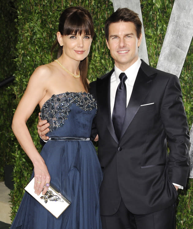 "Celebrity splits 2012: We were shocked when Tom Cruise and Katie Holmes announced that they were divorcing after six years of marriage. Katie's lawyer released a statement saying: ""This is a personal and private matter for Katie and her family. Katie's primary concern remains, as it always has been, her daughter's best interest."""