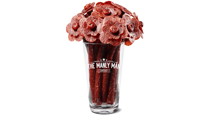 Best gifts for brothers: A bouquet of beef jerky