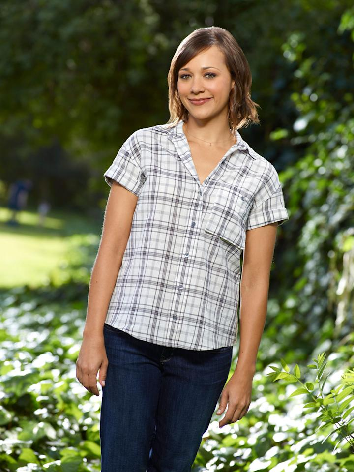 "Rashida Jones as Ann Perkins in NBC's ""Parks and Recreation."""