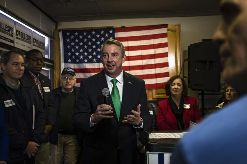 Ed Gillespie survived a tougher-than-expected primary challenge to emerge as the Republican gubernatorial nominee in Virginia. (The Washington Post/Getty Images)