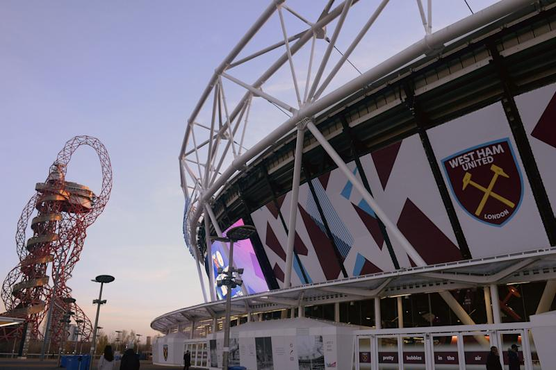 Tough transition | The Hammers have won just six league games at their new stadium: Arfa Griffiths/West Ham United via Getty Images