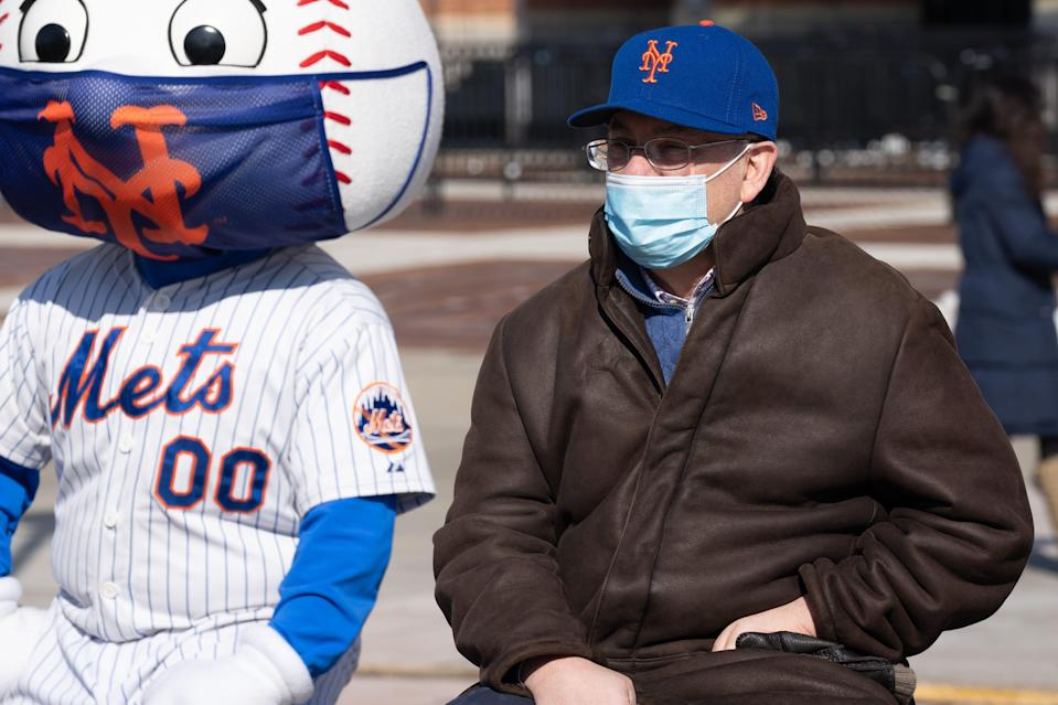 Mets owner Steve Cohen in February.