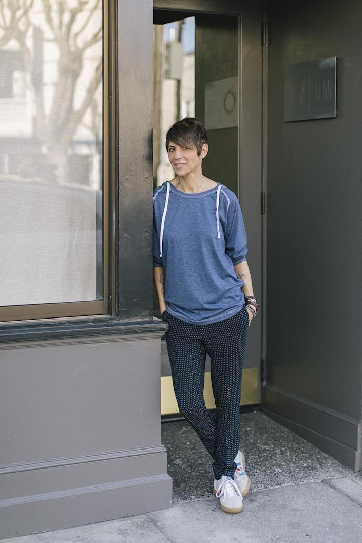 Dominique Crenn has made a name for herself on the West Coast with her triple-starred restaurant Atelier Crenn.