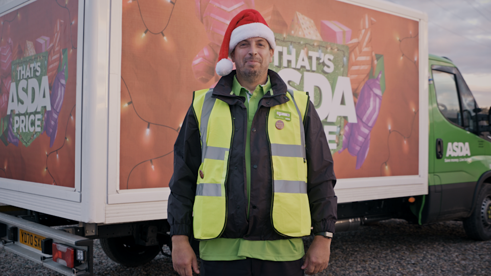 ASDA delivery drivers will have the option of wearing a badge which lets customers know they can spare time to talk
