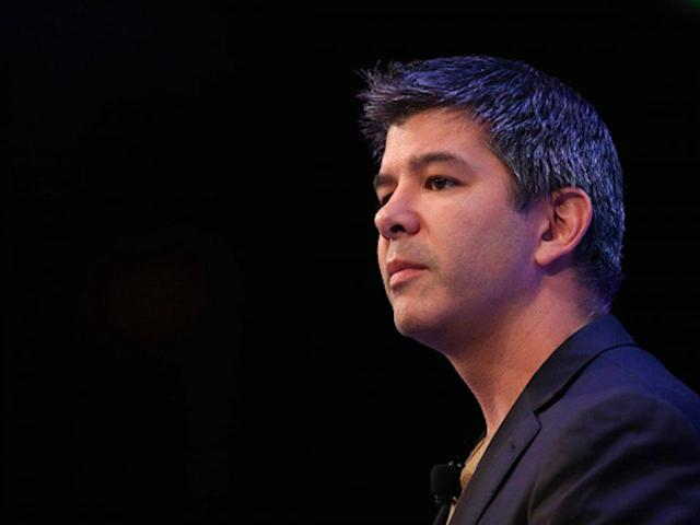 Former Uber CEO and co-founder Travis Kalanick.