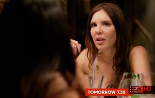 Tracey seems surprised by Davina's advice, seemingly not knowing she has an ulterior motive. Source: Nine