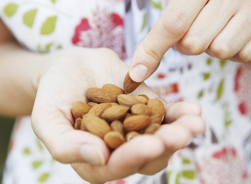 My Diet Is Better Than Yours almonds