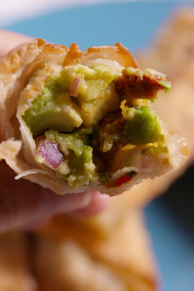 "<p>Here's how to make the fave appetizer at home.</p><p>Get the recipe from <a href=""/cooking/recipes/a48811/avocado-egg-rolls-recipe/"" data-ylk=""slk:Delish"" class=""link rapid-noclick-resp"">Delish</a>.</p>"
