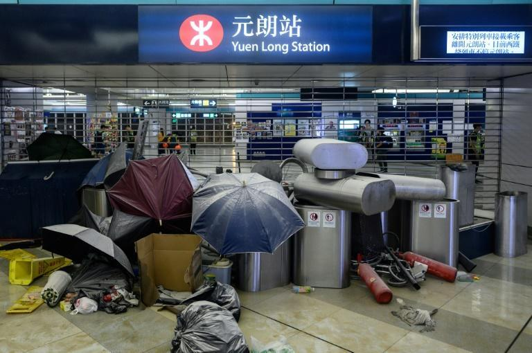 A July 2019 mass assault in Yuen Long on people returning home from a protest hammered public trust in Hong Kong's police