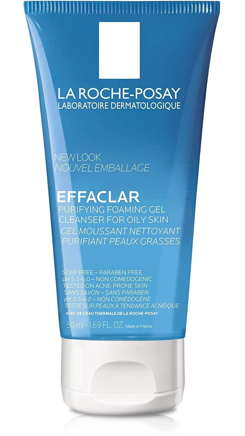<p>Dr. Fassihi recommended the <span>La Roche-Posay Effaclar Purifying Foaming Gel Cleanser</span> ($8) as a daily face wash (provided you don't experience irritation) for those who are on the oilier side and currently have spots, as well as teenagers who are experiencing breakouts. She also rates this product as a body wash if you have acne on your back or congestion on your chest.</p>