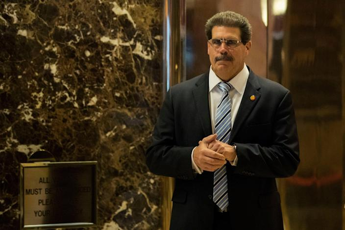Matthew Calamari, the Trump Organization's chief operating officer, is reportedly being investigated by New York prosecutors (Getty Images)