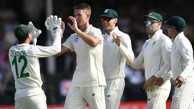 Dwaine Pretorius was more than happy after South Africa took nine wickets on the first day of the second Test against England.