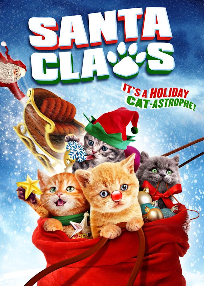 "<p><strong>Netflix description:</strong> ""When a gift sack full of kittens gives Santa a bad allergic reaction, the kitties have to take over and deliver the presents on time.""</p> <p><strong>Ages it's appropriate for:</strong> 6 and up</p> <p><strong>Watch it here:</strong> <a href=""https://www.netflix.com/title/80016471"" target=""_blank"" class=""ga-track"" data-ga-category=""Related"" data-ga-label=""https://www.netflix.com/title/80016471"" data-ga-action=""In-Line Links""><strong>Santa Claws</strong></a></p>"