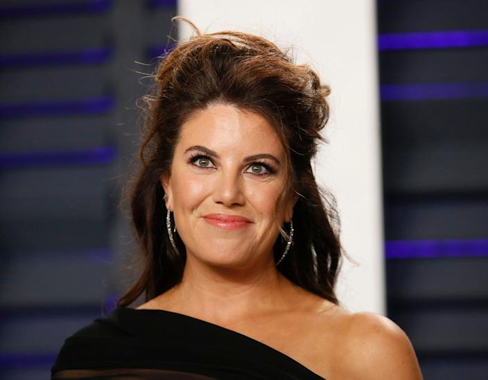 Monica Lewinsky at the Vanity Fair Academy Awards after-party, Feb. 24, 2019. (Photo: Danny Moloshok/Reuters)