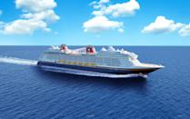 <p>Setting sail in summer 2022, the Disney Wish cruise will be a celebration of Disney's legacy of enchanting storytelling that brings to life the fantastical worlds and beloved characters at the heart of Disney, Pixar, Marvel and Star Wars adventures like never before. (Disney)</p>