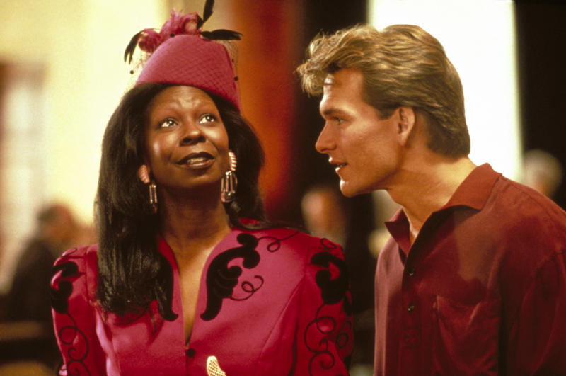 """Whoopi Goldberg and Patrick Swayze star in 1990 movie """"Ghost."""" (Photo: Paramount/courtesy Everett Collection)"""