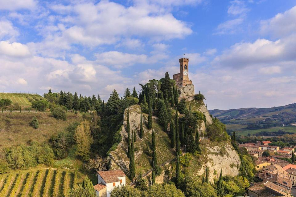 <p>Few could contest the beauty of the Italian landscape, so Lonely Planet recommends its Le Vie di Dante - a walk that serves as an homage to the writer and poet Dante Alighieri, who did these trails 700 years ago. The epic 245-mile (395km), 20-stage trek (obviously you can partake in whichever parts of the route you want to) runs from Ravenna to Florence and back, with highlights including the pictured medieval village of Brisighella.</p>