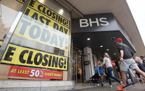 BHS closing down sale - Credit: Paul Grover