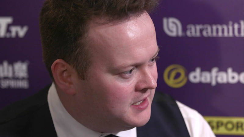 Former world champion Shaun Murphy saw his bid for a second Masters crown come to an end with defeat to Ali Carter