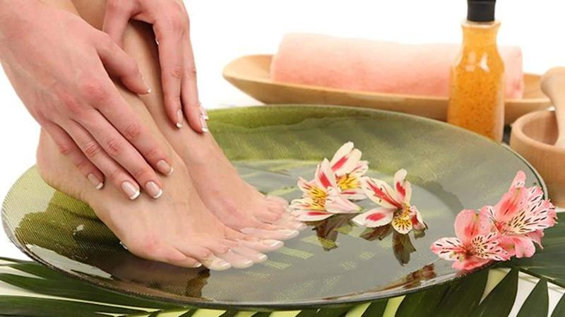 DIY foot soaks for spa experience at home