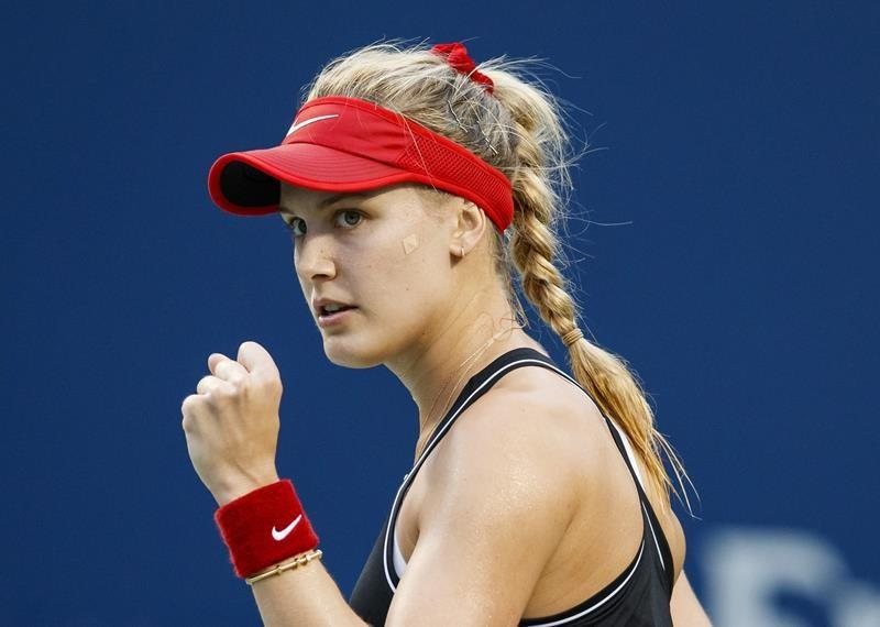 Canadian Eugenie Bouchard knocks off top seed to reach Istanbul quarterfinals