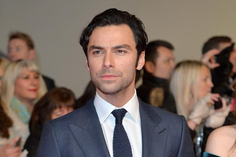 West End debut: Poldark star Aidan Turner will appear in The Lieutenant of Inishmore: Anthony Harvey/Getty Images