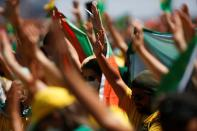 Protest calling for printed and auditable vote in Brasilia