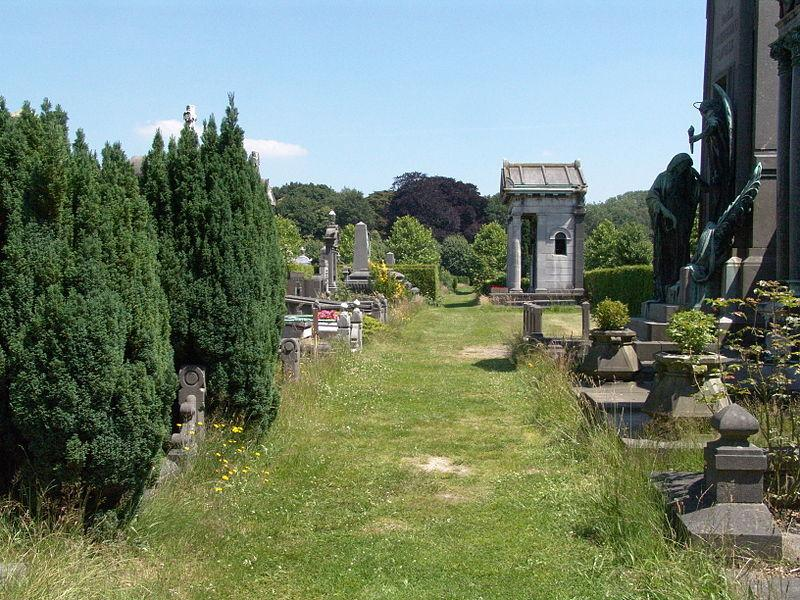 Imagen del cementery de Schoonselhof Por onroerend erfgoed Creative Commons Attribution-Share Alike 3.0 Unported
