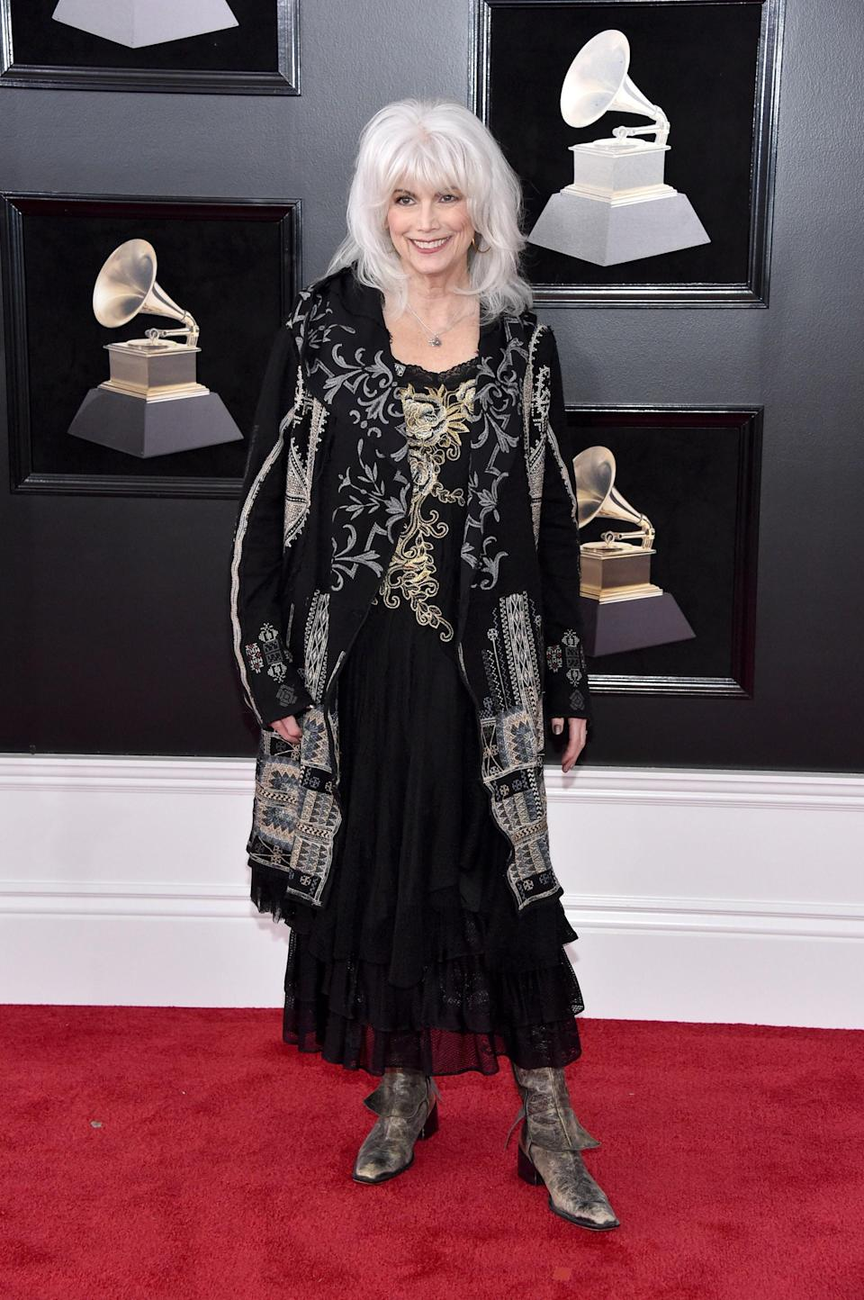 """<h1 class=""""title"""">Emmylou Harris in Johnny Was</h1><cite class=""""credit"""">Photo: Getty Images</cite>"""