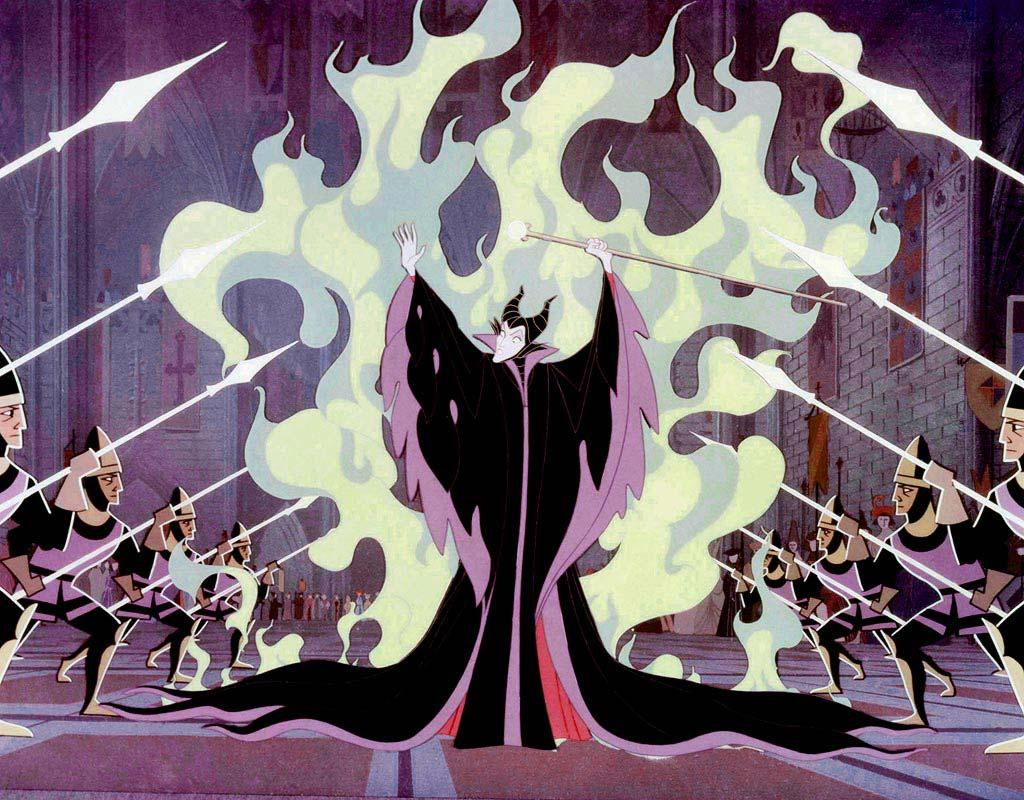 """Maleficent, """"<a href=""""http://movies.yahoo.com/movie/1800118520/info"""">Sleeping Beauty</a>""""<br><br>Animation is rife with deranged villainesses, but none casts a darker shadow than Disney's Maleficent who uses her power to conjure up wicked prophecies, black thorn bushes, and even turns herself into a dragon to achieve the ultimate vengeance."""