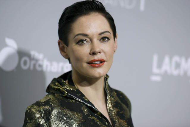 Rose McGowan.  (Photo by Richard Shotwell/Invision/AP, File)