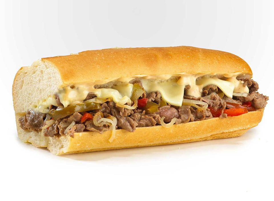 jersey mikes chipotle cheesesteak sub sandwich