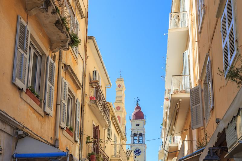 The Old Town of Corfu - getty