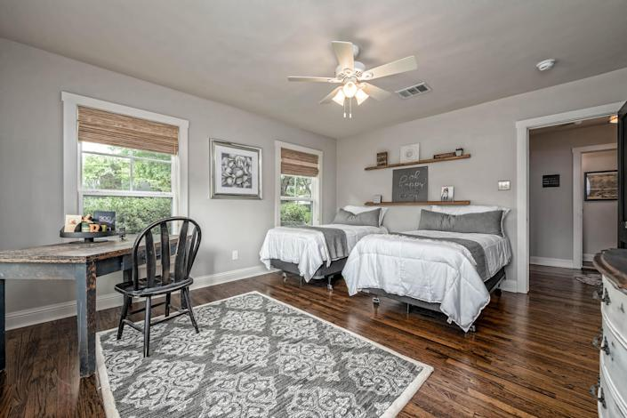The second bedroom works as either a home office or spare bedroom. (Carol Embry, Picture It Sold(R))