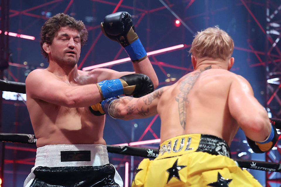 <p>Ben Askren was overwhelmed by Jake Paul</p> (Getty Images for Triller)