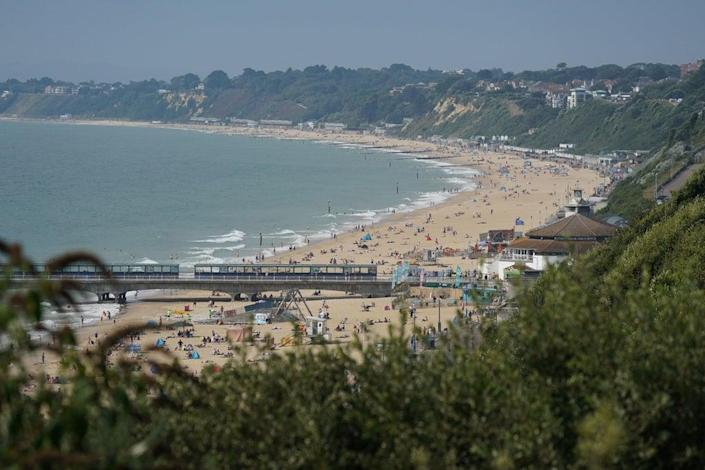 The alleged attack took place on a Sunday afternoon in the sea at Bournemouth beach  (PA)